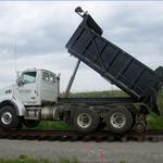 Hi-Rail Rotary Dump Truck