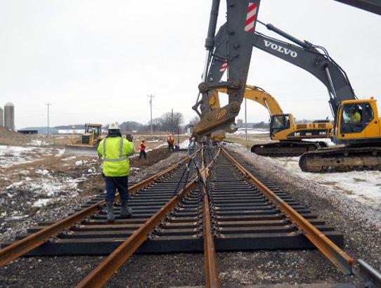 Railroad Construction - Wisconsin