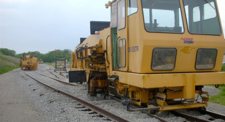 Railroad Rehab and Surfacing in Wisconsin